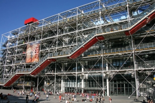 POMPIDOU CENTRE TURNS FORTY (The)
