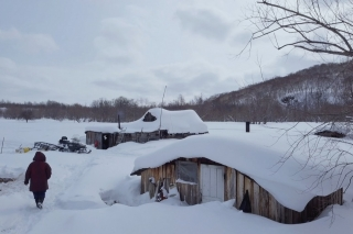 KAMCHATKA, A WINTER WITH THE EVEN